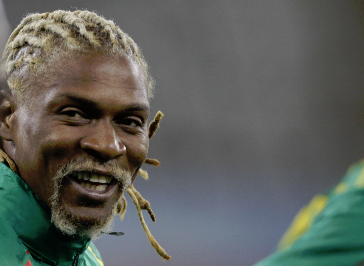 Rigobert Song, ex-footballeur et capitaine de la sélection camerounaise de football.