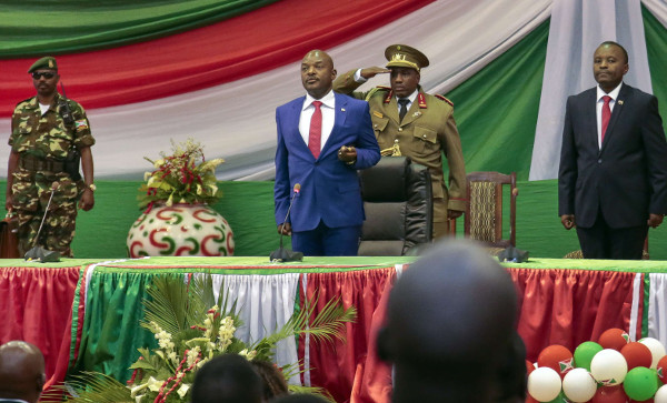 Pierre Nkurunziza, président du Burundi, le 20 août 2016 à Bujumbura.