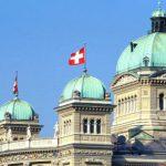 Le Palais fédéral à Berne, siège du gouvernement et du Parlement.