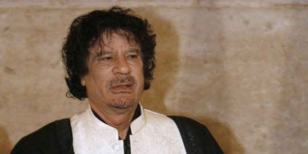 Mouammar Kadhafi au sommet de Lisbonne, le 8 décembre 2007.