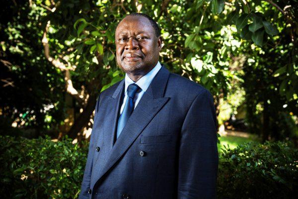 Ablassé Ouédraogo, candidat à l'élection présidentielle de 2020.
