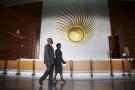 Au siège de l'Union africaine, à Addis-Abeba.