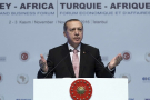 Recep Tayyip Erdogan à l'ouverture du Turkey-Africa Business Forum, mercredi 2 novembre 2016 à Ankara.