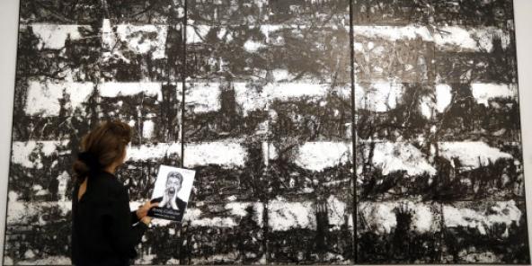 5f5e9240721 Art contemporain   les œuvres africaines de la collection de David Bowie  mises aux enchères