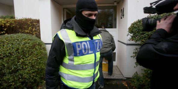 Plus de 200 perquisitions en Allemagne dans des raids antiterroristes