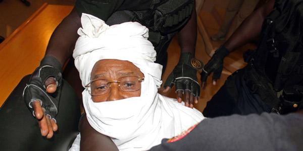 Hissène Habré lors de son procès à Dakar, le 20 juillet 2015.