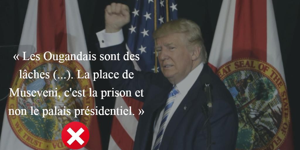 Donald Trump, le 45e président des États-Unis.