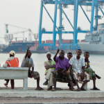 Le port de Djibouti.