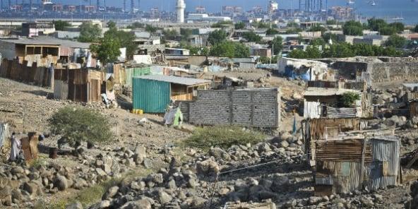 Le quartier pauvre de Balballa.