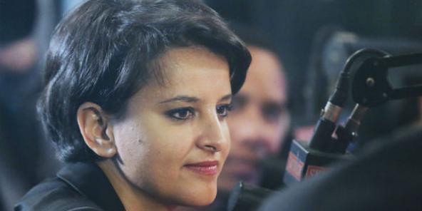 Najat Vallaud-Belkacem à Paris, le 19 mai 2015.