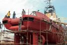 Otam restaure des navires depuis fin 1989.