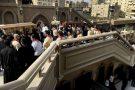 Funérailles des victimes décédées dans l'attentat contre la communauté copte, dans l'Église de Saint-Pierre-et-Saint-Paul du Caire, le 12 décembre 2016.