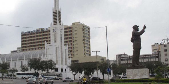 Centre-ville de Maputo, le 9 octobre 2015. Photo d'illustration.