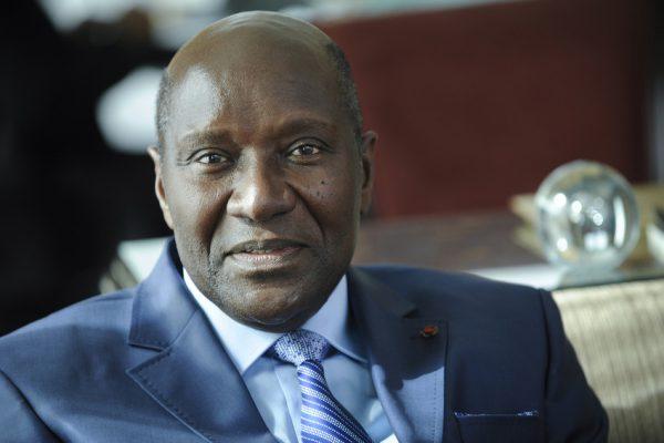 L'ancien Premier ministre de la Côte d'Ivoire, Daniel Kablan Duncan.