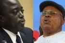 Le président Joseph Kabila et l'opposant historique Étienne Tshisekedi.