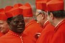 Le cardinal Laurent Monsengwo, le 20 novembre 2010 au Vatican.