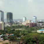 Une vue d'Abuja.