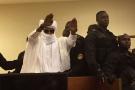 Hissène Habré lors de son procès à Dakar, le 30 mai 2016.