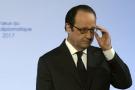 François Hollande à l'Élysée, le 12 janvier 2017.
