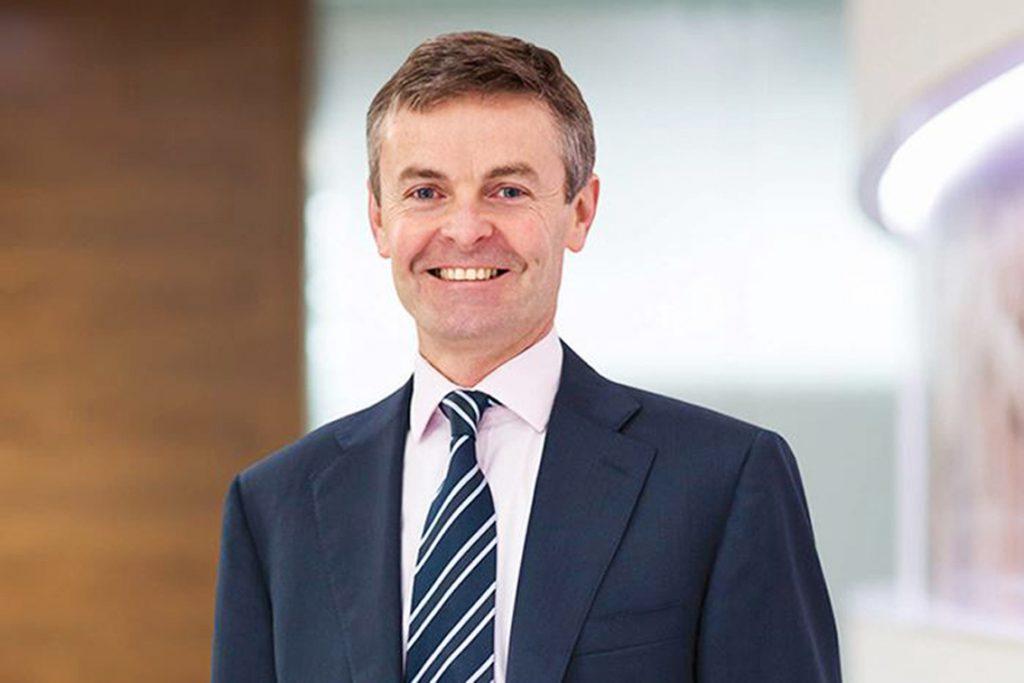 Paul McDade, directeur de l'exploration de la compagnie Tullow Oil.