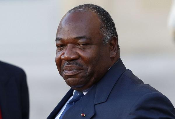 Le président gabonais, Ali Bongo Ondimba, au Palais de l'Élysée pour la préparation de la COP21, à Paris, le 10 novembre 2015.