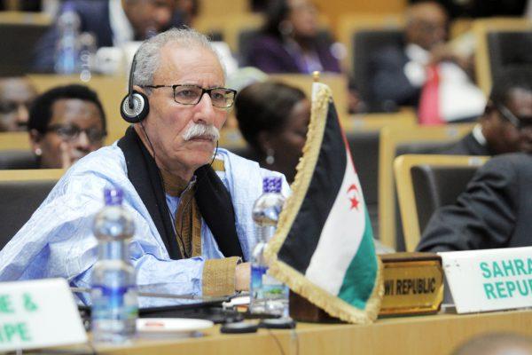 Brahim Ghali, chef du Polisario, lors du 28e sommet de l'Union africaine (image d'illustration).