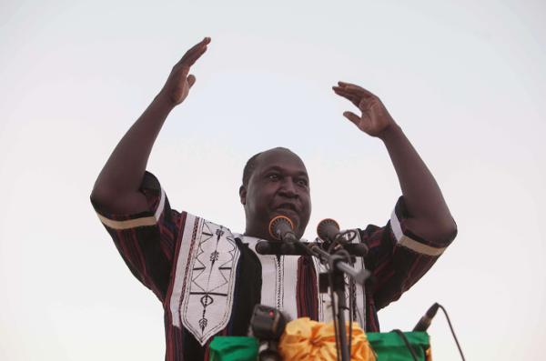 Burkina : l'opposant Zéphirin Diabré investi candidat à la présidentielle par son parti