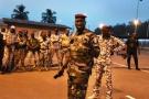 Issiaka Ouattara à Yamoussoukro, alors que des soldats ont de nouveau manifesté leur colère dans plusieurs villes du pays, le 17 janvier 2017.
