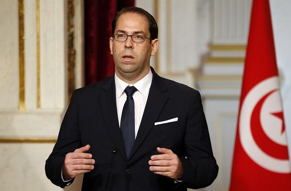 Le chef du gouvernement tunisien, Youssef Chahed, le 10 novembre 2016