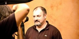 Carlo Lucarelli, auteur de «Albergo Italia»