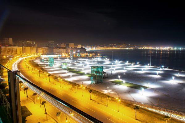 La nouvelle corniche de Tanger.