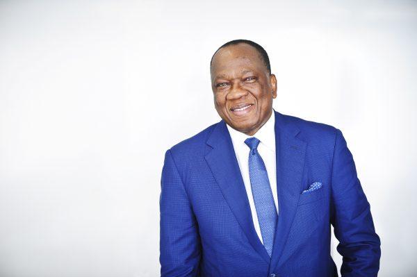 François Louncény Fall (Guinée), diplomate, directeur du bureau régional des Nations unises pour l'Afrique centrale (Unoca). A Paris, le 17.10.2016. © Vincent Fournier/JA