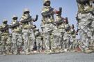 Défilé civil et militaire à Dosso, le jour de la fête nationale du Niger, le 18 décembre 2014.