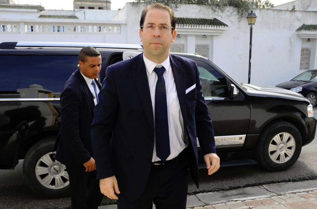 Le chef du gouvernement Youssef Chahed à Tunis, le 6 décembre 2016.