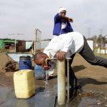 Soweto, Afrique du Sud, août 2002.