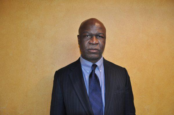 L'ancien ministre des finances Essimi Menye, le 10 février 2010.