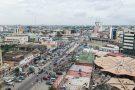 Vue de Cotonou (Bénin).
