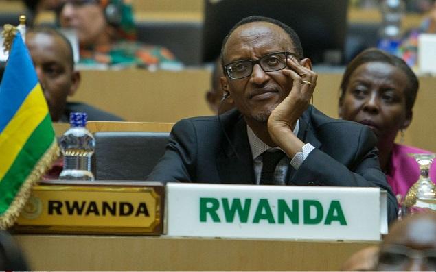 Paul Kagame, le président rwandais, à l'ouverture de la cérémonie du 26e sommet de l'Union africaine à Addis Abeba, en Éthiopie, le 30 janvier 2016.