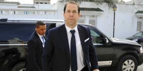 Le chef du gouvernement tunisien, Youssef Chahed.