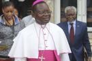 Monseigneur Marcel Utembi, médiateur dans le dialogue politique en République Démocratique du Congo, à Kinshasa, le 21 décembre 2016.