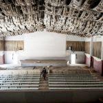Cinéma Christa dans le quartier de Pâtes d'Oie à Dakar, le 26 mars 2013.
