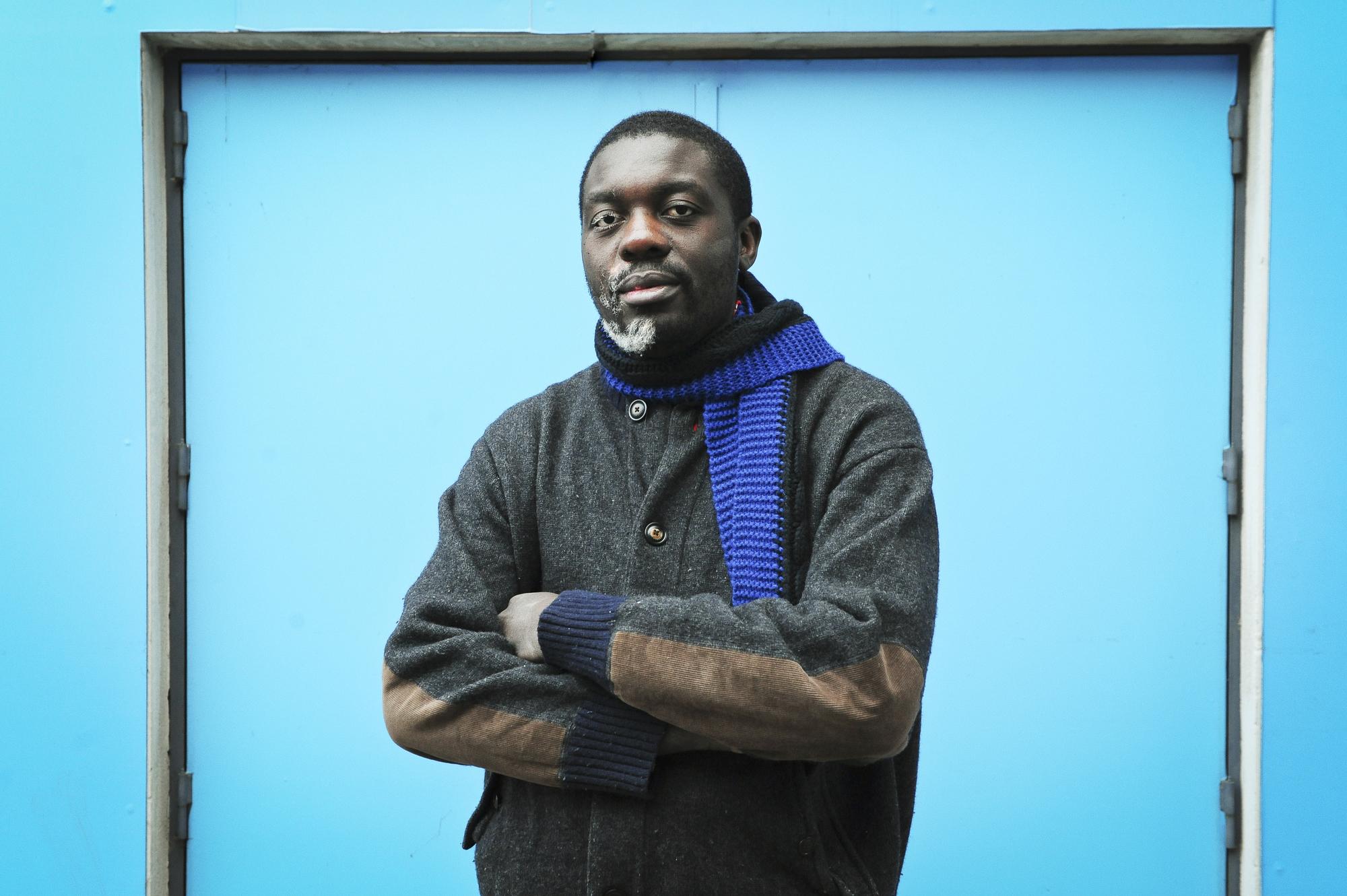 Jean-Jacques Lumumba Luviya (Congo - RDC), neveu de Patrice Lumumba, ancien cadre la BGFI, lanceur d'alerte. En région parisienne le 20 décembre 2016