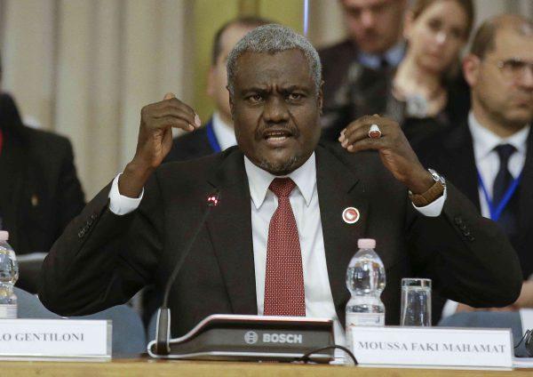 Moussa Faki Mahamat, le Président de la Commission de l'Union Africaine, en mai 2016