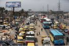 Un embouteillage sur un grand axe de Lagos, au Nigeria. (Photo d'illustration)