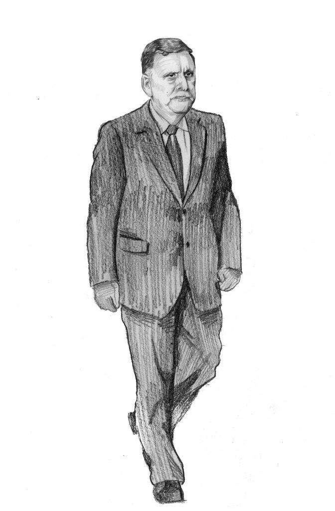 Fayez El Sarraj, chef du Gouvernement d'union nationale (GNA).