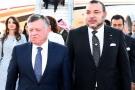 Mohammed VI recevant le roi Abdallah de Jordanie, le 10 mars 2015 à Casablanca (photo d'illustration).