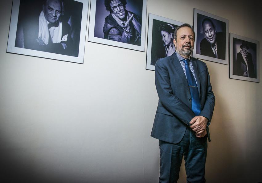 Le directeur du Centre Cinématographique Marocain, Sarim Fassi-Fihri, à Rabat le 27 janvier 2015.