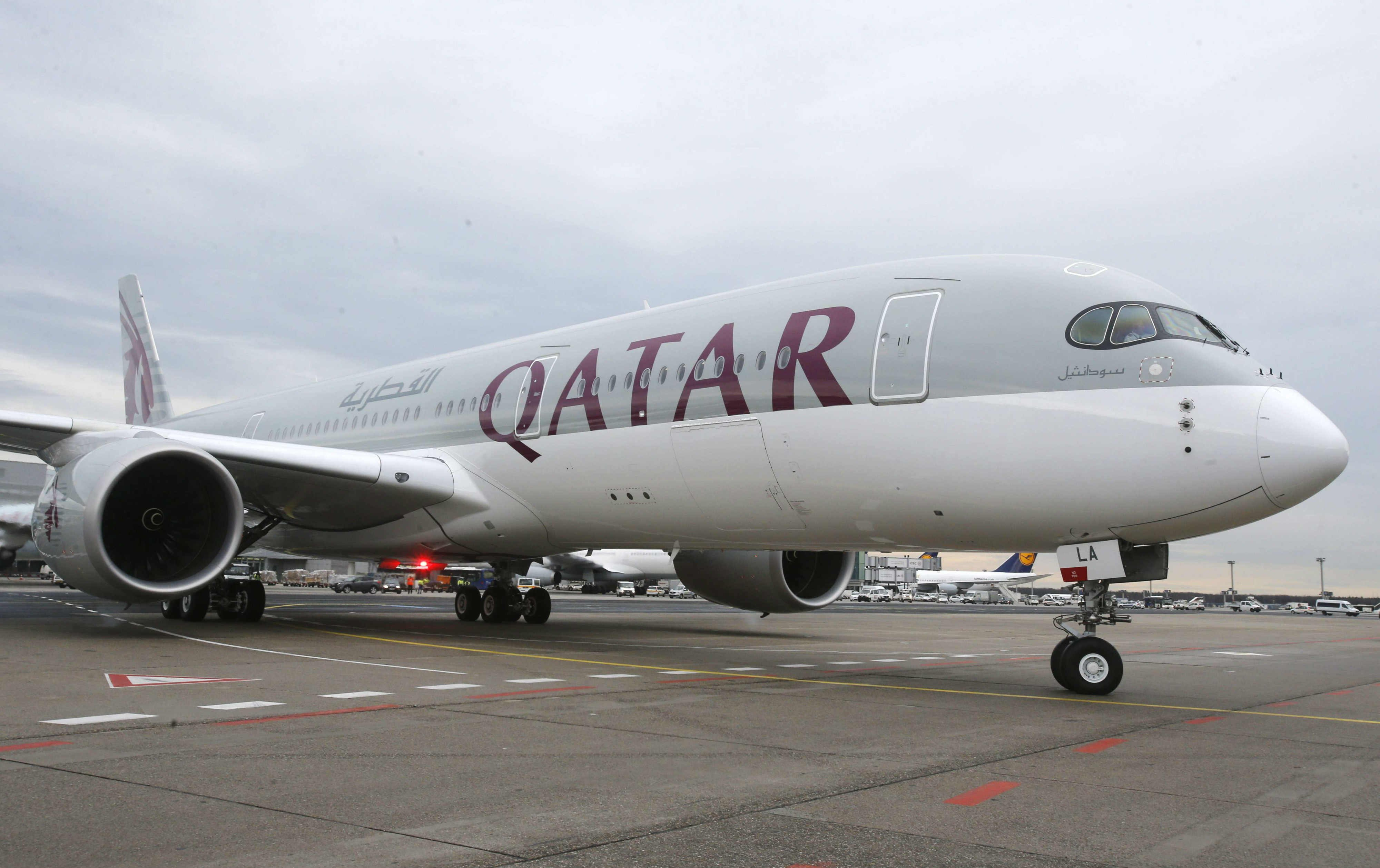 Un avion de la compagnie Qatar Airways. Photo d'illustration.
