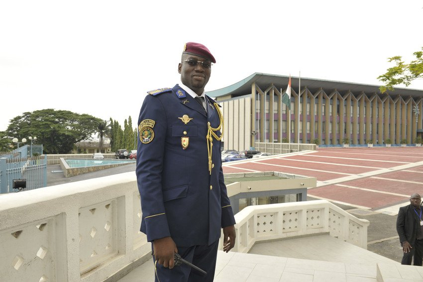 Le lieutenant-colonel Issiaka Ouattara, dit Wattao, à Abidjan le 24 juillet 2013.