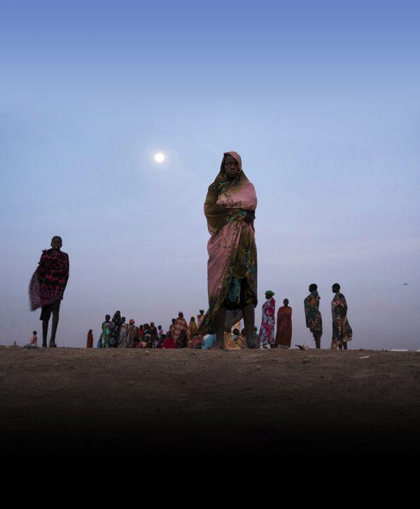 Dans un camp de réfugiés à Bentiu, au Soudan du Sud, le 10février 2017.